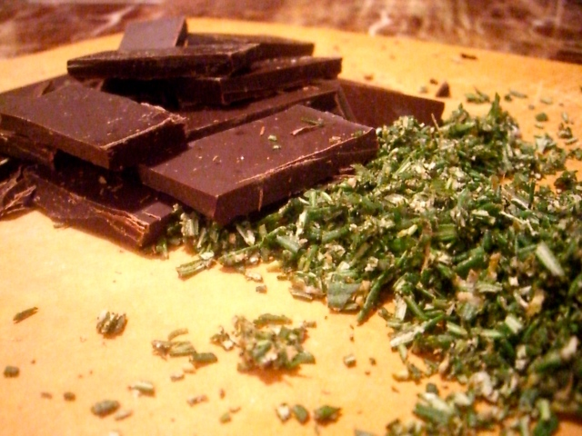 rosemary and chocolate
