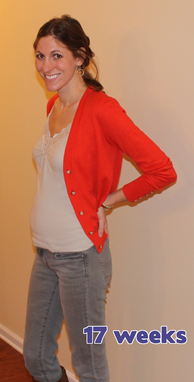 19 weeks pregnant milf creampied 9