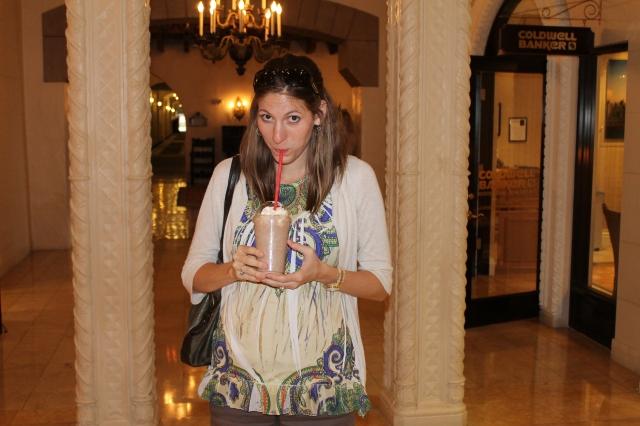 pregnant chocolate shake