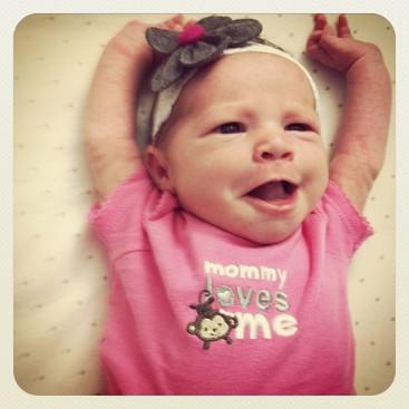 elena 1 week old